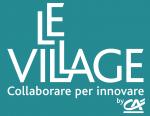 Logo_LeVillage_bianco_sfondo_verde